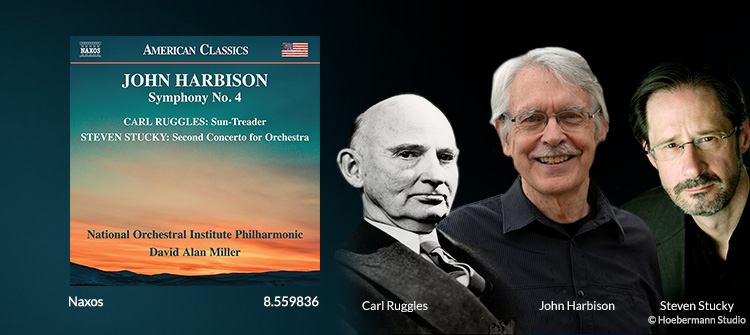 Orchestral Music - RUGGLES, C. / STUCKY, S. / HARBISON, J.