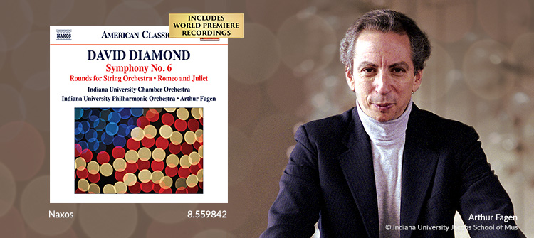 DIAMOND, D.: Symphony No. 6 / Rounds / Music for Romeo and Juliet