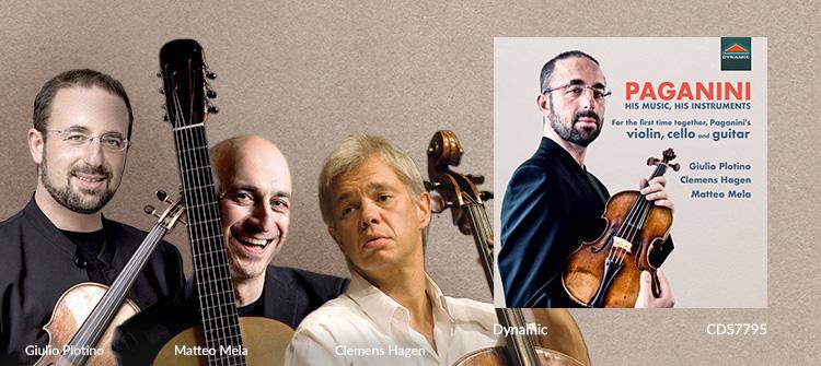 PAGANINI, N.: Terzetto / Guitar Sonata No. 33 / Sonata concertata (His Music, His Instruments)